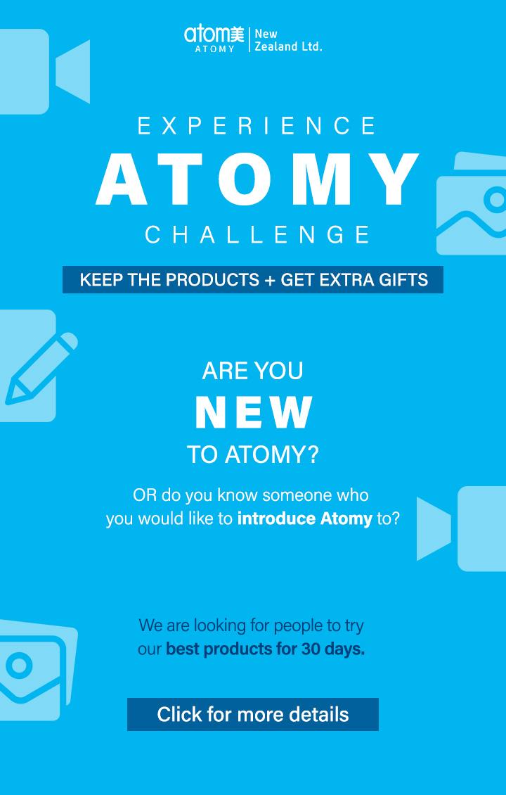 Experience Atomy