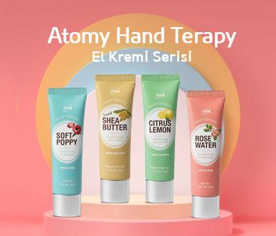 Hand Theraphy 4'lu El Kremi serisi